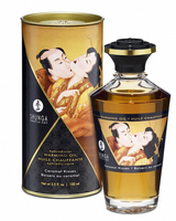 Aphrodisiac warming oil - caramel kisses -
