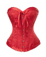 Satin Brocade Sweetheart Corset