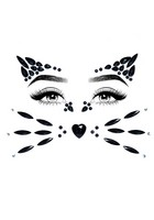 Animal face jewels sticker