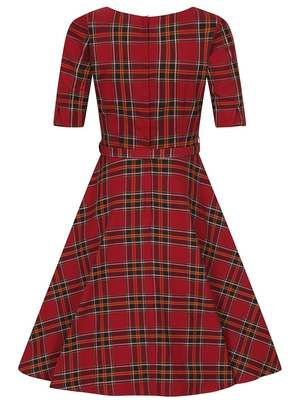 Suzanne berry check swing dress