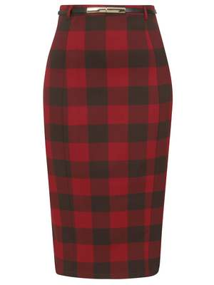 Willa ashurst gingham skirt
